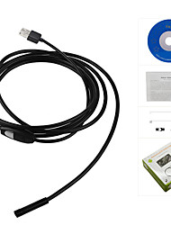 cheap -5M 5.5mm 6LEDs Soft Cable Android Endoscope Waterproof Inspection Camera Micro USB Video Camera