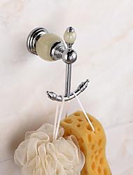 economico -Ganci di Tenda per doccia Modern Ottone