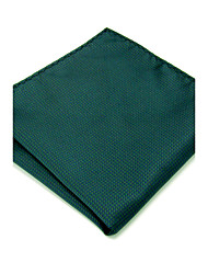 cheap -YH28 Mens Handkerchief Green Solid 100% Silk Business Casual Jacquard New For Men