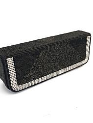 Donna Sacchetti Primavera Estate Autunno Inverno Per tutte le stagioni Velluto Metallo Pochette Perle Lustrini Crystal / Rhinestone per