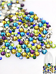 cheap -About 500pcs/bag Rhinestones / Nail Jewelry / Glitter & Poudre Glitters / Fashion / Shimmering Lovely Daily