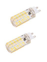 cheap -BRELONG® 2pcs 5W 450-500lm G9 E26 / E27 LED Corn Lights T 80 LED Beads SMD 5730 Dimmable Decorative Warm White Cold White 110-130V