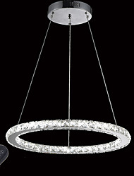 cheap -Circular Pendant Light Ambient Light - Crystal, Dimmable, LED, 110-120V / 220-240V LED Light Source Included / 10-15㎡ / LED Integrated