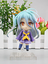Anime Action Figures Inspired by No Game No Life Cosplay PVC 10 CM Model Toys Doll Toy