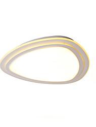 abordables -UMEI™ Moderne / Contemporain Montage du flux Lumière d'ambiance - LED, 110-120V 220-240V, Blanc Crème Blanc, Source lumineuse de LED