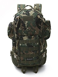 45 L Hiking & Backpacking Pack Backpack Camping / Hiking Multifunctional