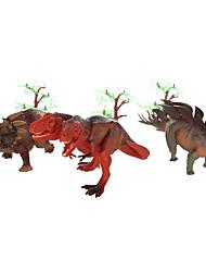 Brinquedo Educativo Modelo e Blocos de Construção Dinossauro Plástico