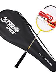 abordables -Raquettes de Badminton Badminton Indéformable Durable Haute élasticité Léger Fibre de carbone Exercice Sport de détente De plein air