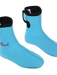 Недорогие -Dive&Sail Носки для плавания Аква Носки 3mm для Дети - Дышащий Мощность Мягкость Дайвинг Серфинг Для погружения с трубкой / Спандекс / Эластичная