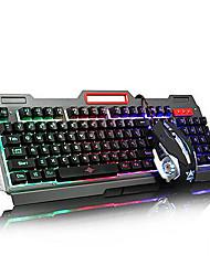 Usb multi color backlit gaming micro denifition 1200-1600-2400-3200 мышь для игр эргономичная клавиатура для мыши комплект