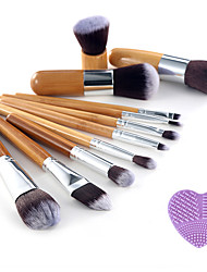 cheap -11pcs Makeup Brushes Professional Makeup Brush Set / Blush Brush / Eyeshadow Brush Synthetic Hair / Artificial Fibre Brush / Nylon Brush
