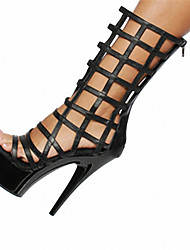 Cross-Strap Sandals