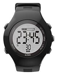 New Arrival EZON T043 Optical Sensor Heart Rate Monitor Fitness Digital Watch Pedometer Calorie Counter Men Women Sports Watch
