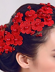 cheap -Imitation Pearl Flowers / Hair Stick 1 Wedding / Special Occasion Headpiece