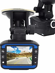 cheap -VGR33 720p / HD 1280 x 720 Car DVR 140 Degree Wide Angle 2inch Dash Cam with White Balance / Photograph / Built-in speaker Car Recorder
