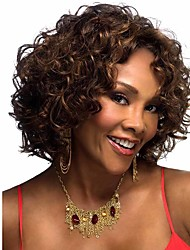 Afro Curly Wig Short Wig Quality Assurance Synthetic Hair For African Black Women