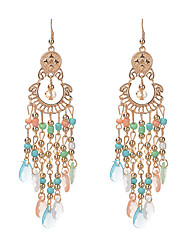 cheap -Women's Crystal Obsidian Crystal Drop Earrings - Tassel Vintage Euramerican Others For Wedding Party Daily