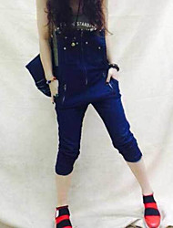 Europas Station Sommer neue Mode Jeans Overalls