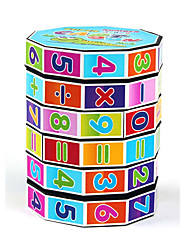 cheap -Math Toy Puzzles Game Educational Toy Toys Cylindrical 1 Pieces Children's Birthday Children's Day Gift