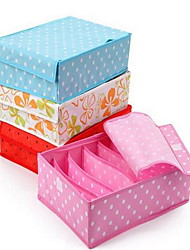 Storage Boxes Storage Units Non-woven with Feature is Lidded , 147 Underwear Cloth