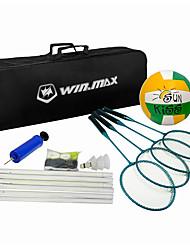 Rede para Badminton Postes & Redes para Badminton Raquetes para Badminton Peteca de Badminton Elasticidade Alta Durável para Fibra de