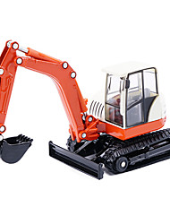 cheap -Toy Cars Construction Vehicle Excavator Toys Simulation Excavating Machinery Metal Alloy Metal Pieces Kids Unisex Gift