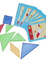Недорогие -Конструкторы Для получения подарка Конструкторы Хобби и досуг Квадратная Треугольник Игрушки