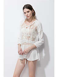 Sinal fig ebay aliexpress novo splicing oco sexy sol proteção vestuário grande mancha