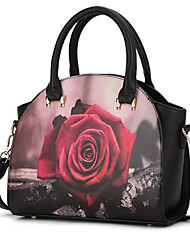 Women Bags All Seasons PU Tote for Casual Office & Career White Black Gray Red Wine