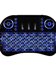 Backlit flying squirrels i8 Air Mouse Sans fil 2,4 GHz Non Android Windows Mac OS X Linux
