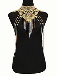 cheap -Women's Body Chain Lace Alloy Bohemian Fashion Gothic Body Jewelry For Special Occasion Casual Costume Jewelry
