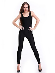Women's Sexy Solid Black/Purple Rompers Womens Jumpsuits Sleeveless Tank Top Casual Bodysuits One Piece Long Catsuits Salopette