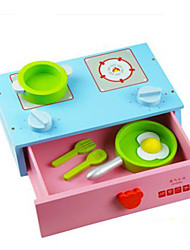 Pretend Play DIY KIT Toy Kitchen Sets Toy Dishes & Tea Sets Toys Circular Vegetables Friut Children's Pieces