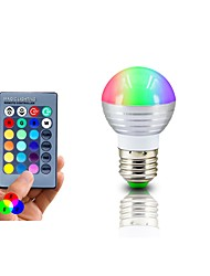 cheap -RGB LED Lamp E27 3W  LED RGB Light Lampada LED Bulb 85-265V SMD5050 16 Colors Change with IR Remote Controller