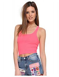 Ebay aliexpress sexy mot sexy back street un petit gilet de réservoir de paragraphe femme souplesse de couleur unie sauvage