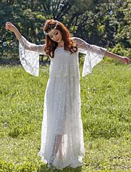 Swing Vestito Da donna-Matrimonio Evento Festa per la promessa di matrimonio Ricevimento di matrimonio Sensuale Romantico Tinta unica