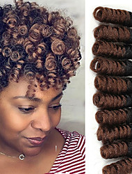 cheap -Crochet Bouncy Curl 100% kanekalon hair Human Hair Extensions Hair Accessory Twist Braids Hair Braids Daily