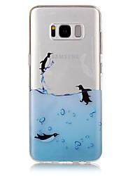 economico -Custodia Per Samsung Galaxy S8 Plus S8 IMD Transparente Fantasia/disegno Custodia posteriore Animali Morbido TPU per S8 S8 Plus S7 edge