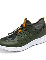 economico -tessuto comodità scarpe da ginnastica primavera estate atletico casuale piedi lace-up degli uomini