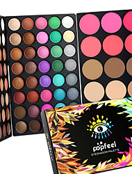 cheap -95 Color 2in1 Pro Eye Shadow Eyeshadow&Blush Contour Palette Dry Matte&Glitter Smoky&Colorful Eyeshadow Powder Daily Party Makeup Cosmetic Palette Set