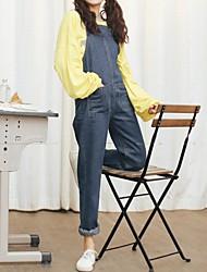 segno 2017 nuova versione coreana era sottile grandi cantieri tasca personalità tuta studente preppy bretelle pantaloni pezzo