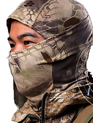 cheap -Unisex Balaclava Hunting Leisure Sports Dust Proof Wearable Spring Winter Fall/Autumn