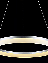cheap -Round LED Pendant Light Modern Acrylic Lamps Lighting Luxurious Single Ring D100CM Ceiling Lights Fixtures