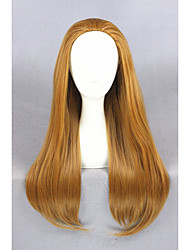 cheap -Long Straight Big Hero 6 Wig Honey lemon Brown 28inch Anime Cosplay WigsCS-240A