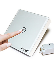 FYW en bande støt fjernbetjening skifte ikke nødvendigt at skære væg ledninger kan indsættes i enhver placeindoor fjernbetjening kan være