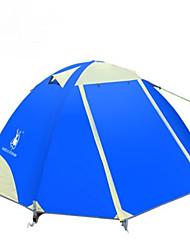 economico -GAZELLE OUTDOORS 2 persone Tenda Doppio Tenda da campeggio Una camera Anti-pioggia per Escursionismo Campeggio Viaggi CM