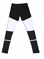 economico -Per donna Pantaloni da corsa Traspirante Morbido Elasticizzato Comodo Calze/Collant/Cosciali Pantaloni Yoga Esercizi di fitness Corsa