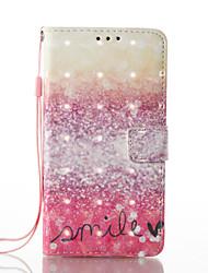 preiswerte -Hülle Für Samsung Galaxy A5(2017) A3(2017) Kreditkartenfächer Geldbeutel mit Halterung Flipbare Hülle Magnetisch Muster Ganzkörper-Gehäuse