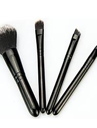 4.0 Pincel para Base Conjuntos de pincel Pincel para Blush Pincel para Sombra Pincel para Lábios Pincel para Pó Pêlo Sintético Viagem