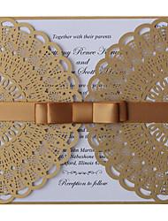economico -Piegato a cancello Inviti di nozze-Bachelorette Cards Partito Invito Cards Invito campione Biglietti di compleanno Biglietti per la Festa